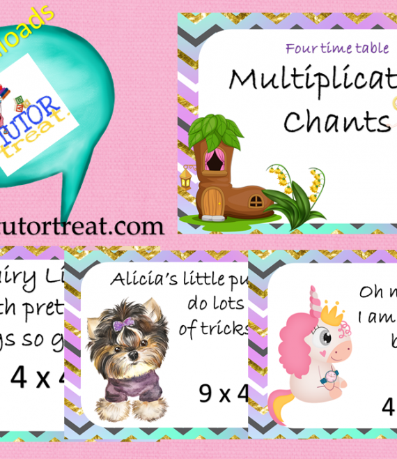 Four Time Multiplication Chants